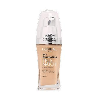 L'Oreal True Match Liquid Foundation D5.W5 Golden Sand 30ml