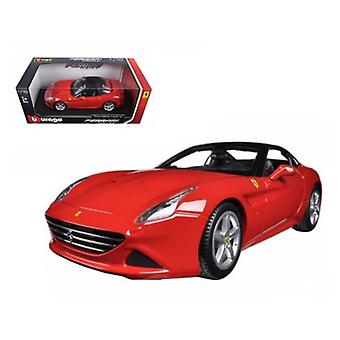 Ferrari California T (geschlossen oben) Rot 1/18 Diecast Modellauto von Bburago