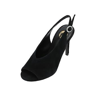 Buffalo 317-2931 Women's Sandals Black Flip-Flops Summer Shoes