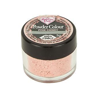 Arcobaleno Polvere Edible Matt Polvere Polvere Colore 4g Candy Rosa