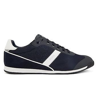 Hugo Boss Footwear Hugo Boss Men's Dark Blue Glaze Lowp Trainers