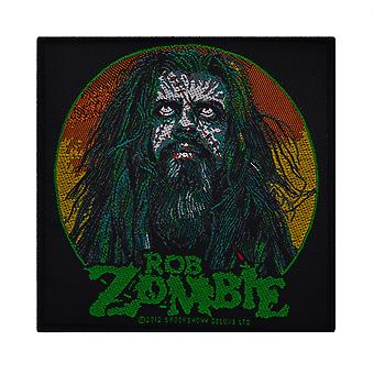 Rob Zombie Zombie Face Woven Patch