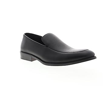 Unlisted by Kenneth Cole Half Slip On Mens Black Dress Slip On Loafers Shoes