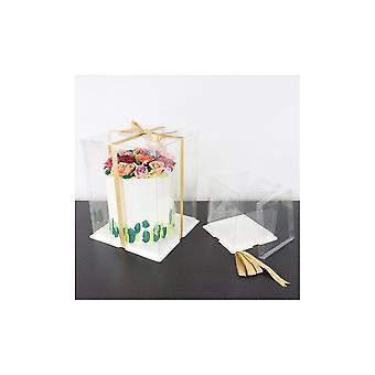 "PME Crystal Cake Box - 10"""