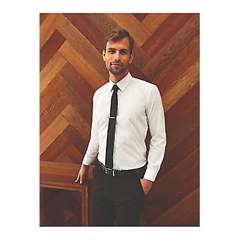 Premier supreme poplin long sleeve shirt pr207