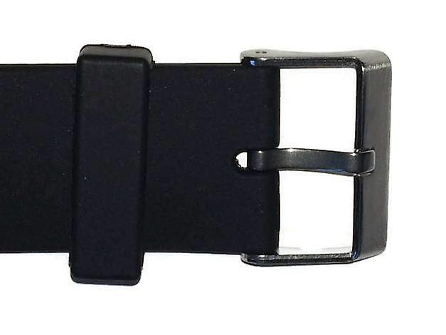 Diving watch strap 22mm (22mm overall width)  stainless steel buckle