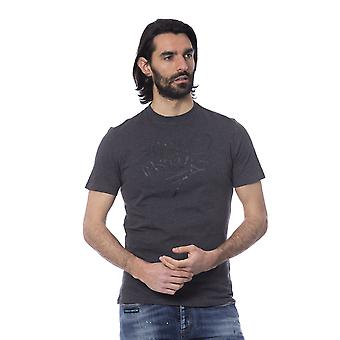 Grey Frankie Morello men's T-shirt