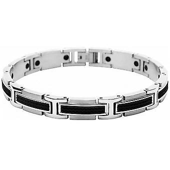 Strap ratchet B461081 - Bracelet Versus two-tone man