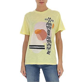 Isabel Marant ÉToile 20pts069520p074e10yw Women's Yellow Cotton T-shirt