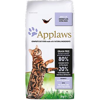 Applaws Adult  Chicken with Extra Duck (Cats , Cat Food , Dry Food)