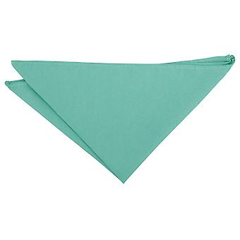 Neo Mint Suede Pocket Square
