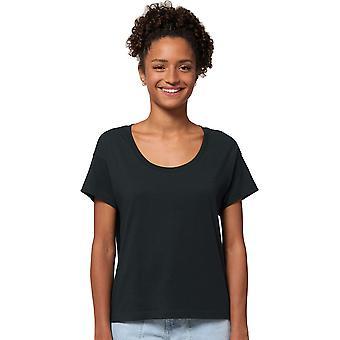 greenT Womens Organic Cotton Chiller Scoop Neck T Shirt