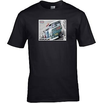 Ich liebe Camper Vans - Auto Motor - DTG gedruckt T-Shirt