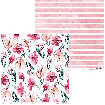Piatek13 - Paper Let's flamingle 04 P13-273 12x12