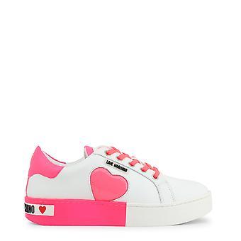 Kærlighed Moschino Original Kvinder Forår / Sommer Sneakers Hvid Farve - 72622