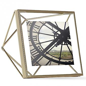 Umbra Prisma Photo Frame 4 X 4 Matte Brass