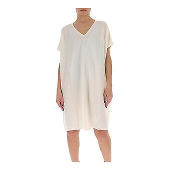 Gentry Portofino D500cog0011 Women's White Cotton Dress