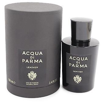 أكوا دي بارما الجلود Eau de Parfum رذاذ من قبل أكوا دي بارما 3.4 أوقية أو دو بارفوم رذاذ