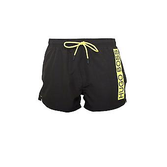 BOSS Swimwear Boss Mooneye Swim Shorts Preto