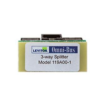 Leviton Omni Bus Splitter Box 3 Way