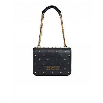 Love Moschino Stud Quilt Logo Shoulder Bag