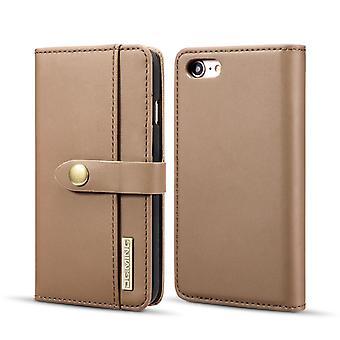 Mobilfodral till iPhone 7 / 8 med magnetskal - Äkta läder