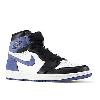 Air Jordan 1 Retro High Og 'Blue Moon' - 555088-115-Schuhe