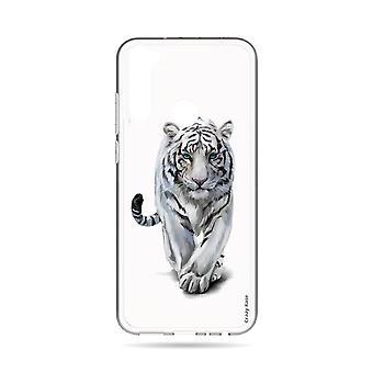 Hull For Xiaomi Redmi Note 8t Soft White Tiger