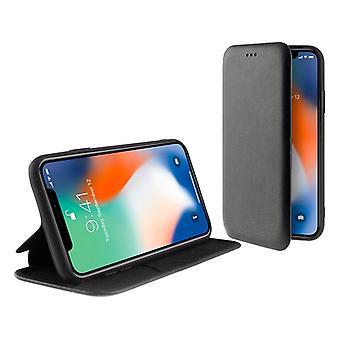 Folio Mobile Phone Case Iphone 11 Pro Max KSIX Debout Noir