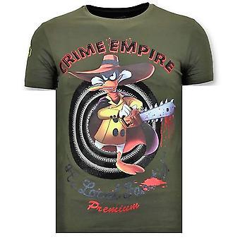 T-shirt - Crime Empire - Green