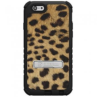 APPLE IPHONE 6 PLUS BEYOND CELL TRI SHIELD CASE - CHEETAH