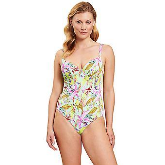 Rösch 1205551-16353 Women's Multicoloured Flowers Underwired Swimsuit