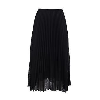 Moncler 2d7110054a39999 Women's Black Polyester Skirt
