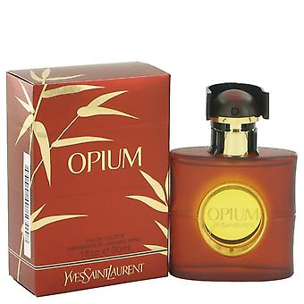 Opium Eau De Toilette Spray (New Packaging) By Yves Saint Laurent 1 oz Eau De Toilette Spray