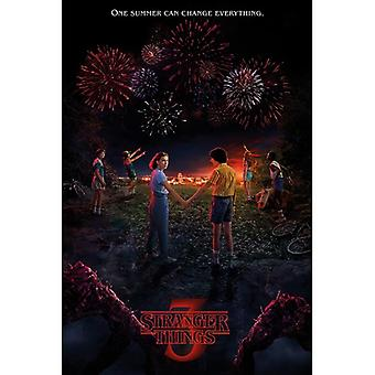 Stranger Things 3, Maxi Poster - One Summer