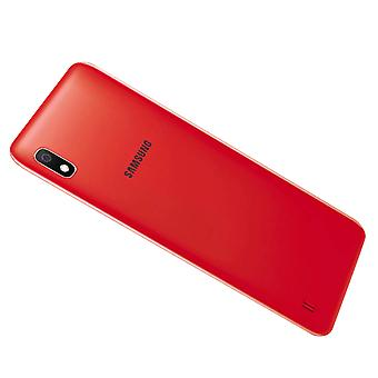 Original Housing part back cover, spare part for Samsung Galaxy A10 - Red