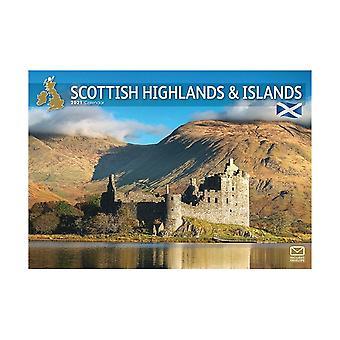 Otter House Schotse Hooglanden en eilanden A4 2021 Kalender