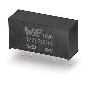 Würth Elektronik 177920514 DC/DC-Wandler (Druck) 5 V 5 V 0,2 A 1 W Nr. der Ausgänge: 1 x