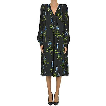 Dries Van Noten Ezgl093164 Women's Black Polyester Dress