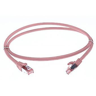 Pink Cat 6A S/Ftp Lszh Ethernet Network Cable