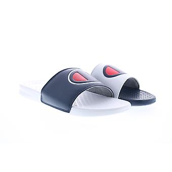 Campione Super Slide Mix Match Uomo Blu Slip On Slides Sandali Scarpe