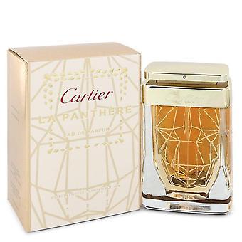 Cartier La Panthere Eau De Parfum (Spray Limited Edition) By Cartier 2.5 oz Eau De Parfum