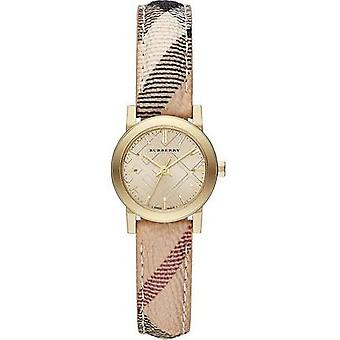 Burberry BU9219 Dial Haymarket Check Strap Ladies Watch