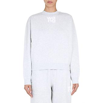 Alexander Wang.t 4cc1201157050 Women's Grey Cotton Sweatshirt