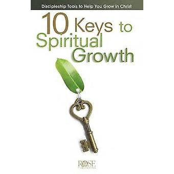 10 Keys to Spiritual Growth - 5-Pack - Discipleship Tools to Help You