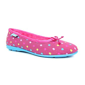 Lunar Starling Polka Dot Pump Slipper