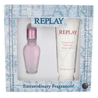 Replay - Jeans Spirit! pour son ensemble cadeau de 20 ml et body lotion Jeans Spirit! pour ses 100 ml - 20ML