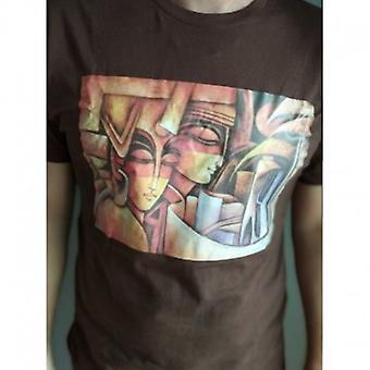 5 / جميع الألوان والأحجام المتاحة 100٪ القطن Tshirt اليدوية في جميع أنحاء العالم الشحن مجانا