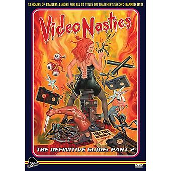 Video Nasties: Definitive Guide Part 2 [DVD] USA import