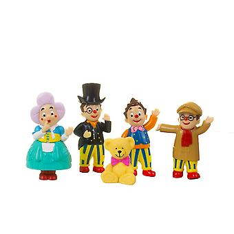 mr tumble and friends figurine set with 5 individual figurines for ages 3+